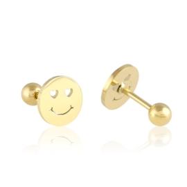 Kolczyki sztyfty wkręcane smile Xuping - EAP11436