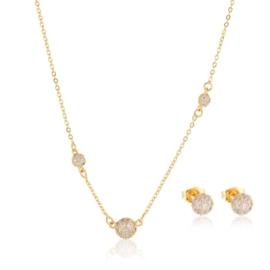 Komplet biżuterii kryształowe kulki Xuping PK492