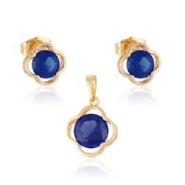 Komplet biżuterii koniczynka Xuping PK497