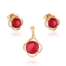 Komplet biżuterii koniczynka Xuping PK498