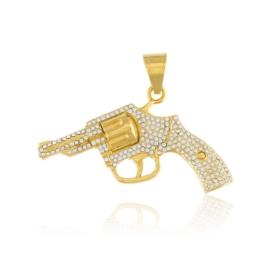 Przywieszka - pistolet - Xuping PRZ2226