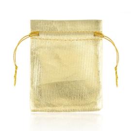 Torebki na biżuterię z organzy 11x9cm 100szt TP410