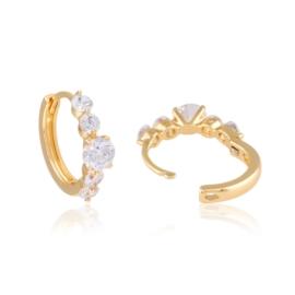 Kolczyki z kryształkami - Xuping - EAP11484