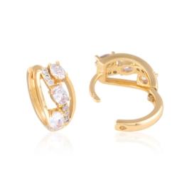 Kolczyki z kryształkami - Xuping - EAP11491