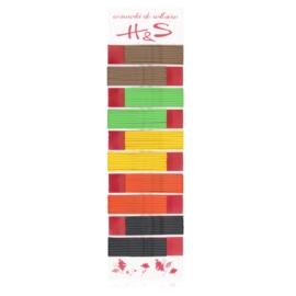Wsuwki do włosów mix lato długie 6cm WS113