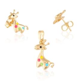 Komplet biżuterii żyrafa Xuping PK501