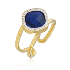 Pierścionek regulowany - niebieski - Xuping PP2367