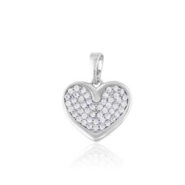 Przywieszka - serce kryształkowe - Xuping PRZ2249