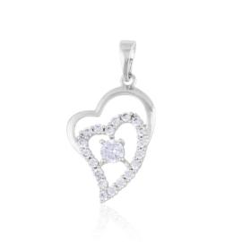 Przywieszka - serce - Xuping PRZ2250