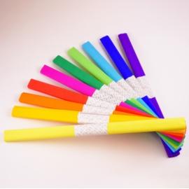 Papier krepowany krepina bibuła 10 kolorów KRE02