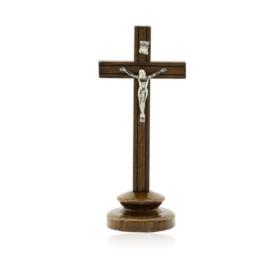 Krzyż stojący drewniany - wys. 18cm - KR32