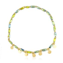 Bransoletka na gumce z koralikami Moonriver BP5068