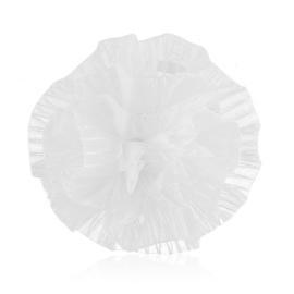 Gumka ozdobna biała - komunijna - OG380