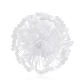 Gumka ozdobna biała - komunijna - OG383