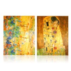 Szal jedwabny dwustronny ART 180x70cm WO879