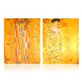 Szal jedwabny dwustronny ART 180x70cm WO882