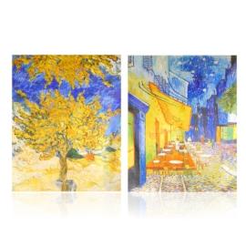 Szal jedwabny dwustronny ART 180x70cm WO883