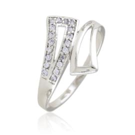 Pierścionek z kryształkami - Xuping - PP2398