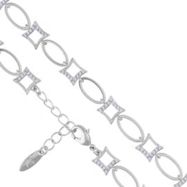 Bransoletka z kryształkami - Xuping BP5149