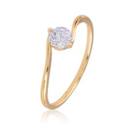 Pierścionek zaręczynowy - Xuping PP2423