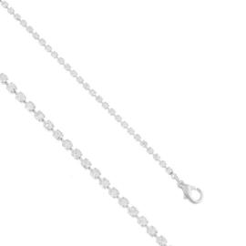 Bransoletka dżetowa - jednorzędowa - BRA1404