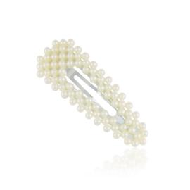 Spinki perełkowe klejone 6,5cm - 6szt. OS502