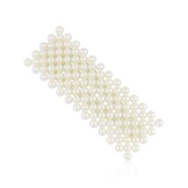 Spinki perełkowe klejone 6,5cm - 6szt. OS504