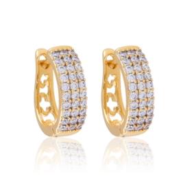 Kolczyki z kryształkami - Xuping EAP11959
