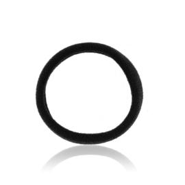 Gumki do włosów klasyczne czarne - 24szt. OG464