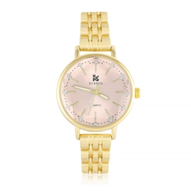 Zegarek damski na bransolecie pink - Z1134
