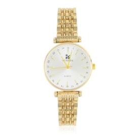 Zegarek damski na bransolecie ecru - Z1137
