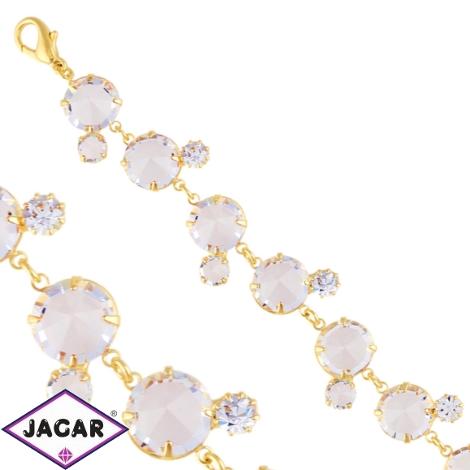 Bransoletka - czeskie kryształy B/7 - BRA1426