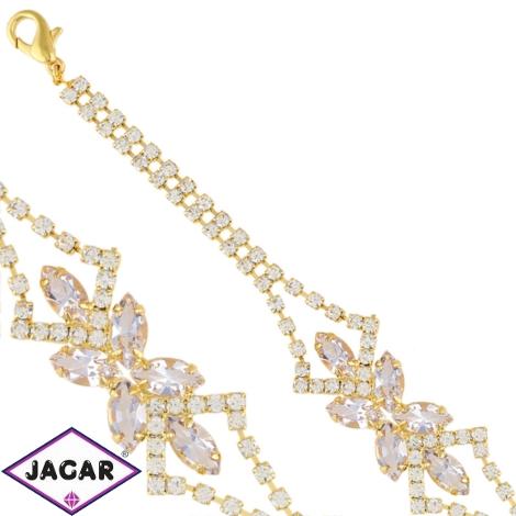 Bransoletka - czeskie kryształy B/48 - BRA1428
