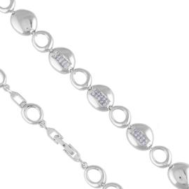 Bransoletka z kryształami - Xuping - BP5249