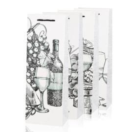 Torebki prezentowe na butelkę 36x11cm 12szt TP441