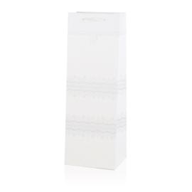 Torebki prezentowe na butelkę 36x11cm 12szt TP442