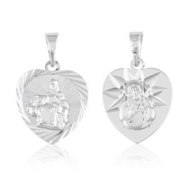 Przywieszka medalik szkaplerz - Xuping PRZ2287