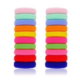 Gumki do włosów mix kolorów 20szt OG486