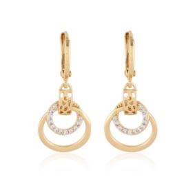 Kolczyki wiszące z kryształkami - Xuping EAP12402
