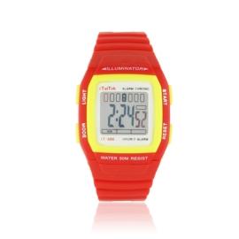 Zegarek dziecięcy sportowy - czerwony - Z1190