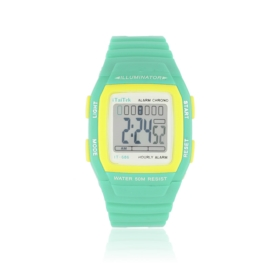 Zegarek dziecięcy sportowy - pistacjowy - Z1191