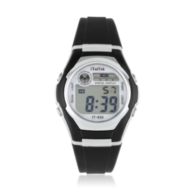 Zegarek dziecięcy sportowy - czarny - Z1196