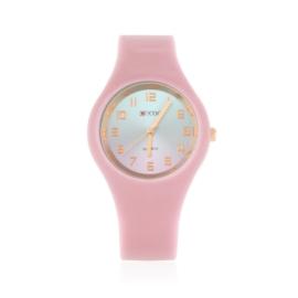 Zegarek silikonowy gradient - różowy - Z1200