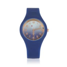 Zegarek silikonowy gradient - granatowy - Z1201
