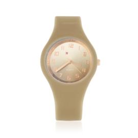 Zegarek silikonowy gradient - brązowy - Z1202