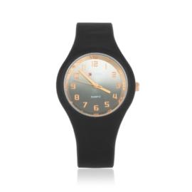 Zegarek silikonowy gradient - czarny - Z1203