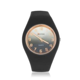 Zegarek silikonowy gradient - czarny - Z1204