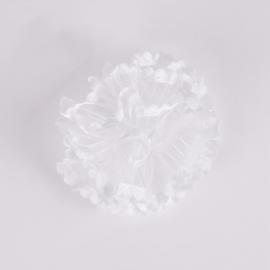 Gumka ozdobna biała - komunijna - OG494