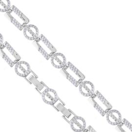 Bransoletka z kryształkami - Xuping - BP5393