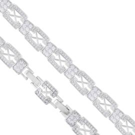 Bransoletka z kryształkami Xuping - BP5397